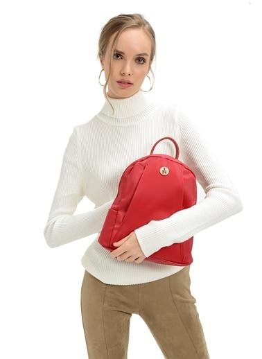 TH Bags Sırt Çantası Kırmızı